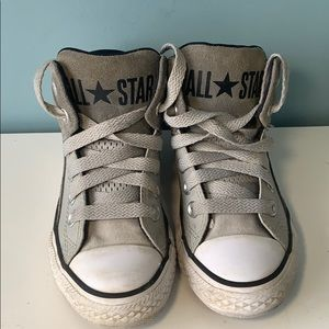 Leather Converse All Stars